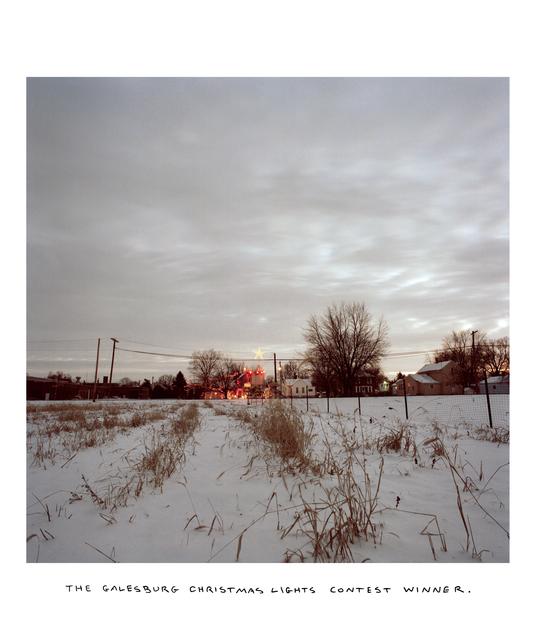 Chris Verene, 'Christmas Lights Contest Winner', 1995, Postmasters Gallery