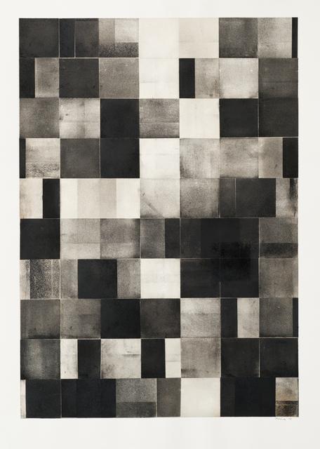 , 'Grid Drawing (large 5),' 2015, Bentley Gallery