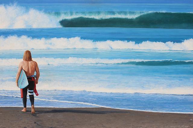 ", '""The Surfer"",' 2018, Scott White Contemporary Art"