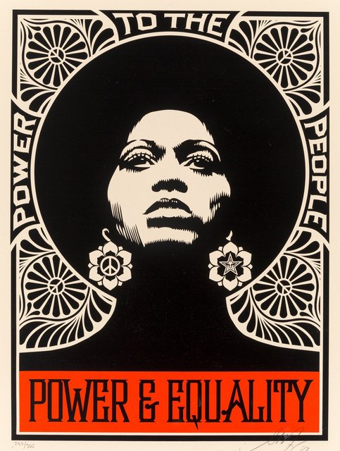 Shepard Fairey, 'The Power (Black)', 2007, Heritage Auctions
