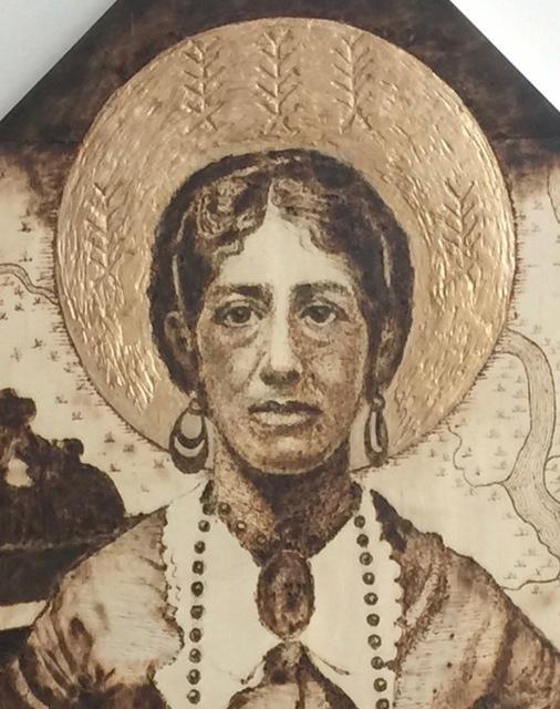 Nancy Lunsford, 'Madonna of the South: Nancy Weston Grimké', 2018, 440 Gallery