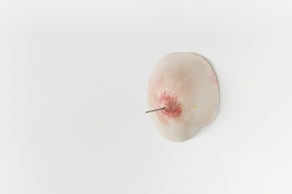 Boob with a Nail