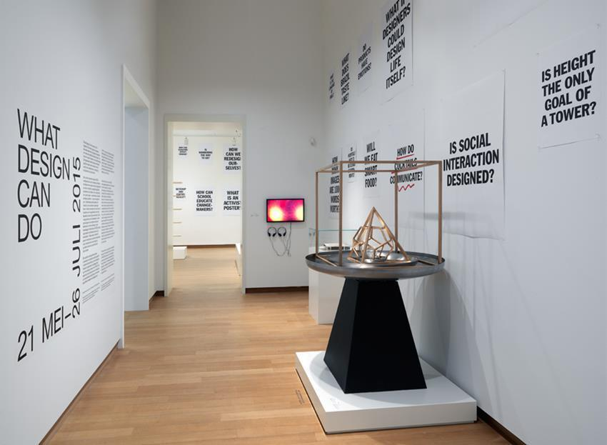 """What Design Can Do"" at Stedelijk Museum Amsterdam (2015) Photo: Gert Jan Van Rooij"