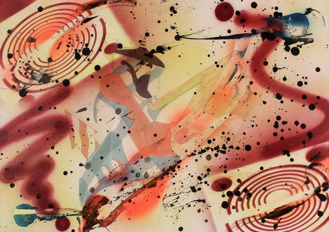 , 'Wild Style Letter R,' 1990, Lazinc