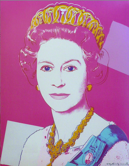 Andy Warhol, 'Queen Elizabeth II of the United Kingdom (from Reigning Queens)', 1985, IFAC Arts