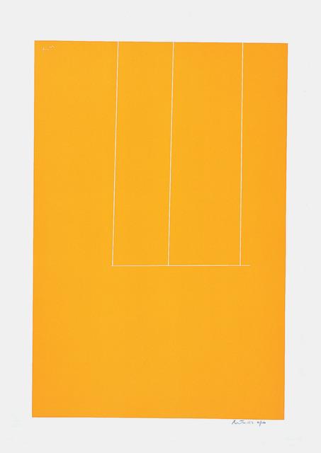 , 'London Series I: Untitled (Orange),' 1971, Marlborough Gallery
