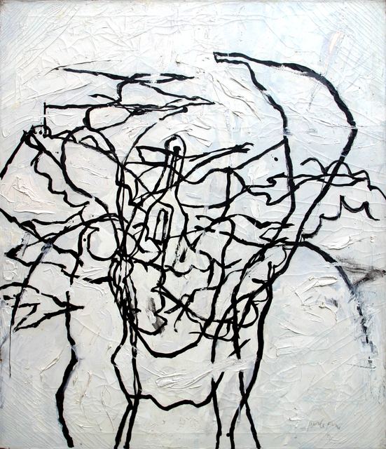, 'Angry Response,' 1957, Anita Shapolsky Gallery