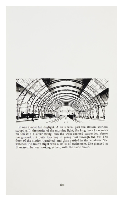 Yevgeniy Fiks, 'Ayn Rand in Illustrations (Atlas Shrugged, page 104)', 2010, Winkleman Gallery
