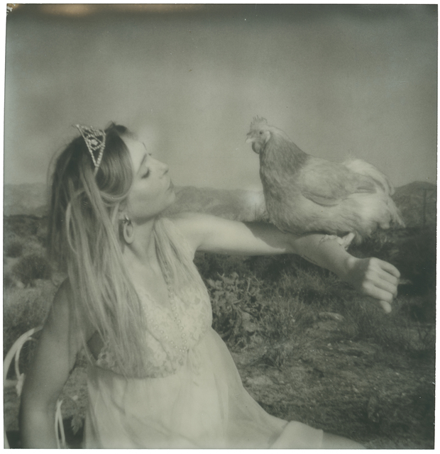Stefanie Schneider, 'Princess Kiss (Chicks and Chicks and sometimes Cocks)', 2018, Photography, Digital C-Print, based on an original expired Polaroid  not mounted, Instantdreams
