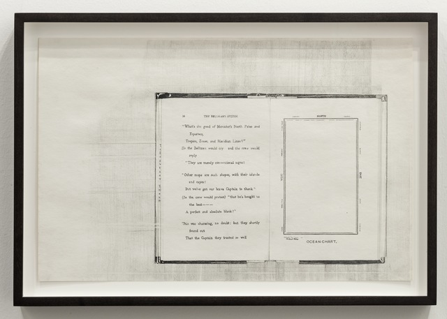 , 'Hunting of the Snark (Bellman's Speech, Ocean Chart),' 2011, MKG127