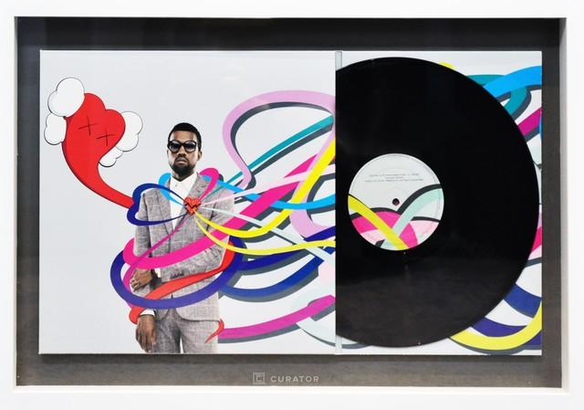 KAWS, 'KAWS X Kanye West Heartbreak (First Pressing) Vinyl Records', 2008, Design/Decorative Art, Lithograph, Vinyl Record, Curator Style