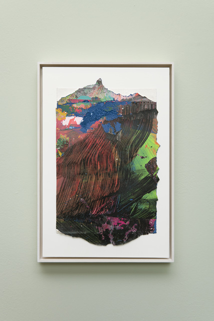 Tiziano Martini, 'Untitled #3', 2019, Drawing, Collage or other Work on Paper, Acrylics on paper, cardboard, wooden frame, OTTO ZOO