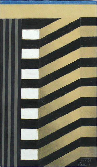 , 'Hochhaus Steigende Stockwerke,' 1986, SMUDAJESCHECK