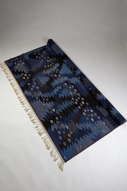 , 'Seaweed Blue Rug,' 1950-1960, Modernity
