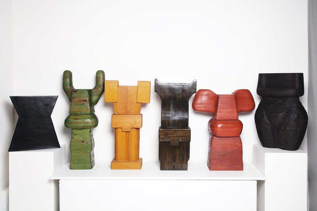 Wooden Torsos Series 2