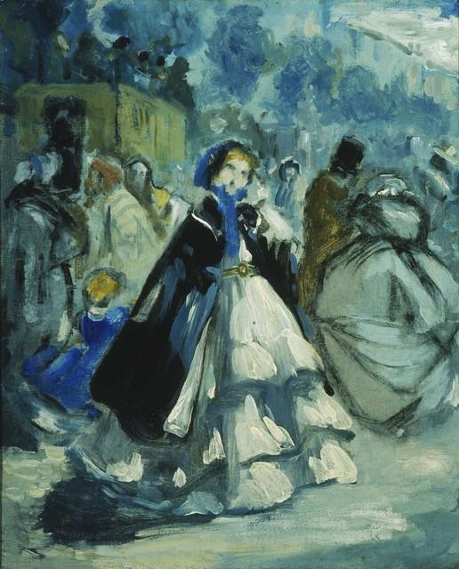Jean-Baptiste Carpeaux, 'Street Scene', Phillips Collection