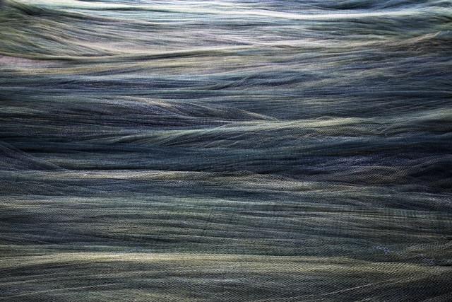 , 'Fishing nets drying,' 2016, Gallery Espace