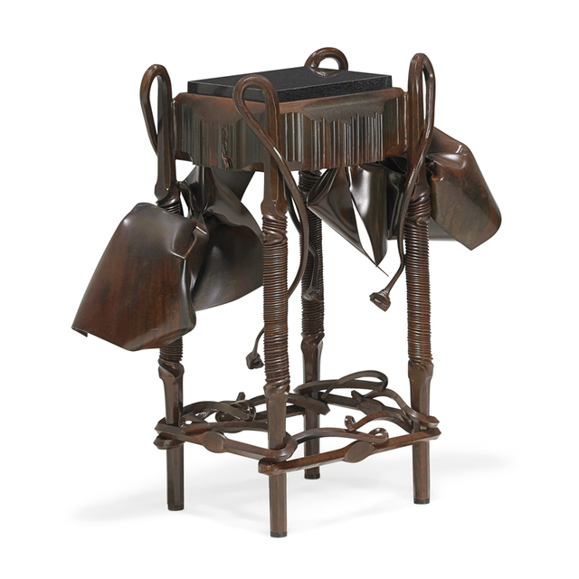 Albert Paley, 'Fine plant stand/side table, Rochester, NY', 2005, Rago