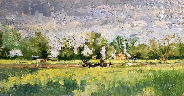 , 'Cows Meadow,' 2018, Somerville Manning Gallery