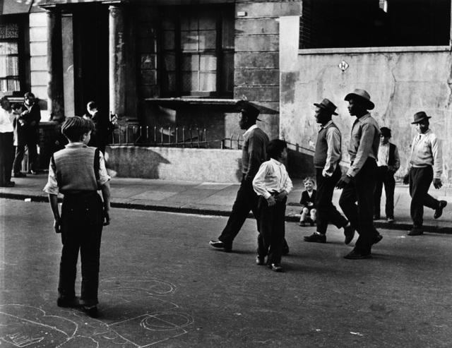, 'West Indians, Southam Street, North Kensington, London,' 1956, Gitterman Gallery