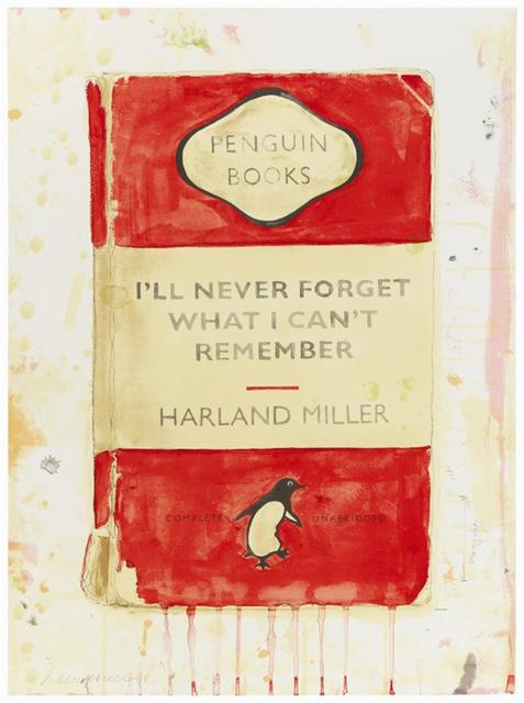 , 'I'll Never Forget What I Can't Remember,' 2015, Hang-Up Gallery