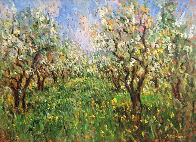 , 'Verger en fleurs,' 2015, Galerie d'Orsay