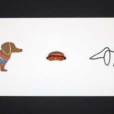 , 'Hot dog,' 2013, Polígrafa Obra Gráfica