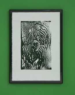 , 'Untitled (Unique Stamp),' 2010, Nina Johnson