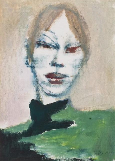 Mino Maccari, 'Woman's face', 2004, Finarte