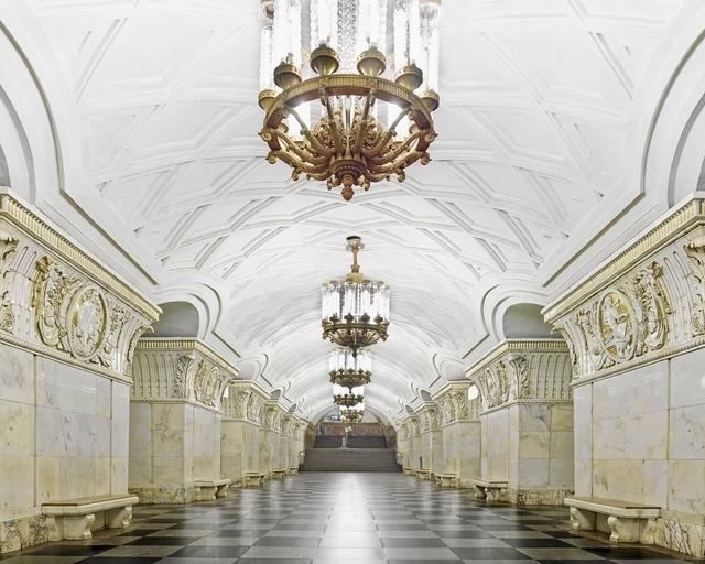 , 'Prospekt Mira Station, Moscow, Russia,' 2015, Galerie de Bellefeuille