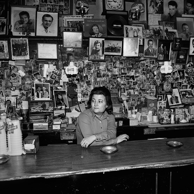 , 'Wanda Behind the Bar (Tootsie's Orchid Lounge, Nashville, TN),' 1974, ClampArt