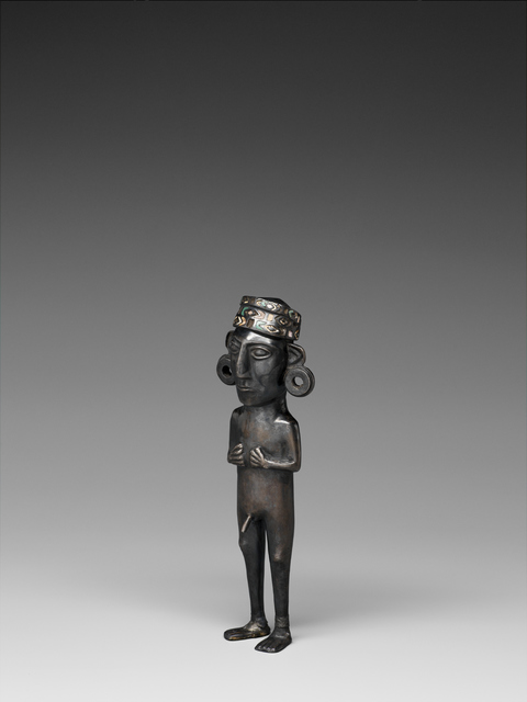 , 'Figurine masculine (male figure),' 1450-1532, Musée du quai Branly