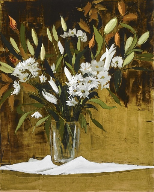 , 'White Lillies,' 2019, SOL Art Gallery