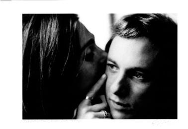 Judy Collins Kissing Steven Stills, 1969