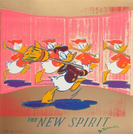 Andy Warhol, 'The New Spirit (Donald Duck) 357', 1985, Lush Art Agency