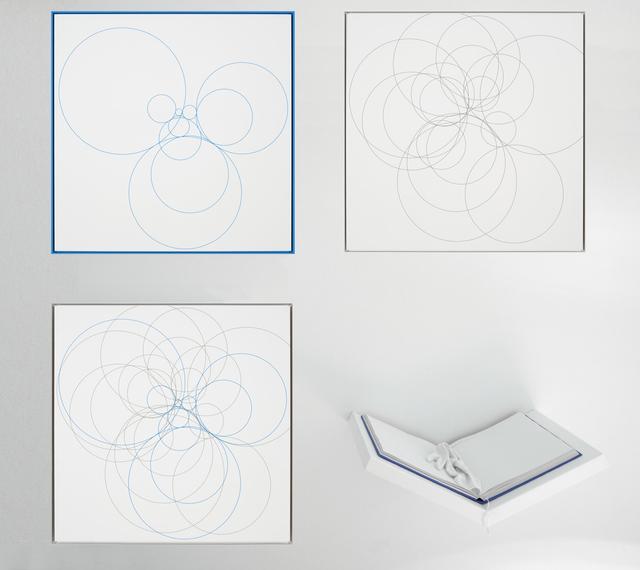 , 'Ulam (Blau/Weiß),' 2015, Galerie Thomas Schulte