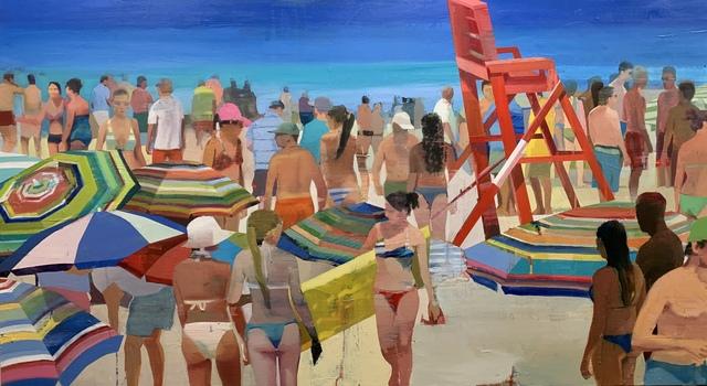 , 'Warm Day on the Beach #3,' 2019, Andrea Schwartz Gallery