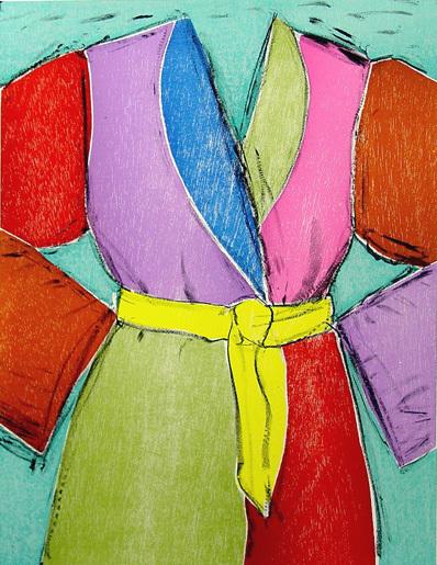 Jim Dine, 'The Yellow Belt', 2005, Kenneth A. Friedman & Co.
