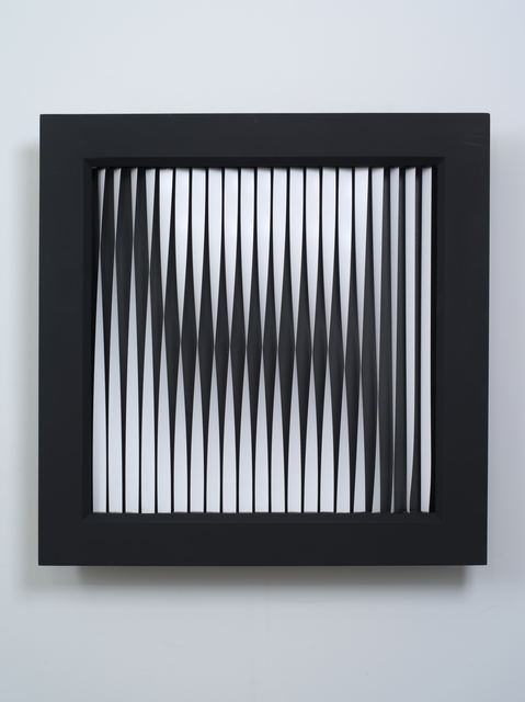 , 'Twisted Strips,' 2012, bitforms gallery
