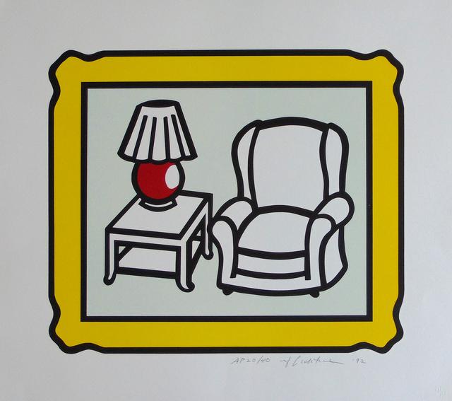 , 'Red Lamp,' 1992, Gilden's Art Gallery