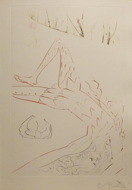 Salvador Dalí, 'Tristan et Iseult Tristan Wounded', 1970, Fine Art Acquisitions