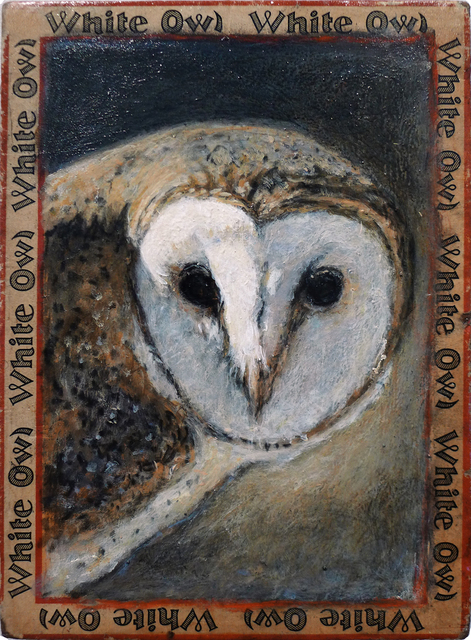 , 'Barn Owl / White Owl,' , Gail Severn Gallery