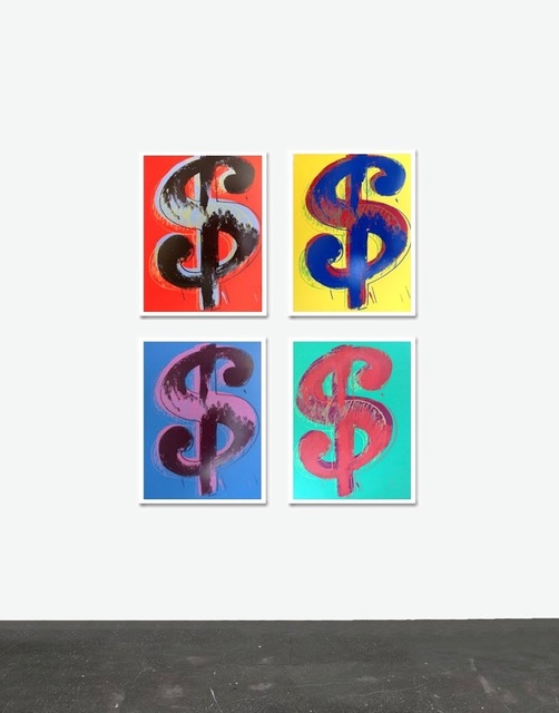 Andy Warhol, 'Dollar Signs - Sunday B. Morning (After)', ARTEDIO
