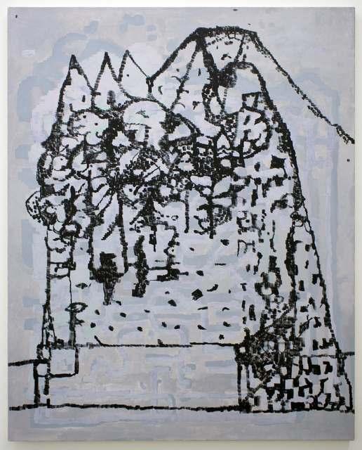 , 'mountain dwellers,' 2016, Romer Young Gallery
