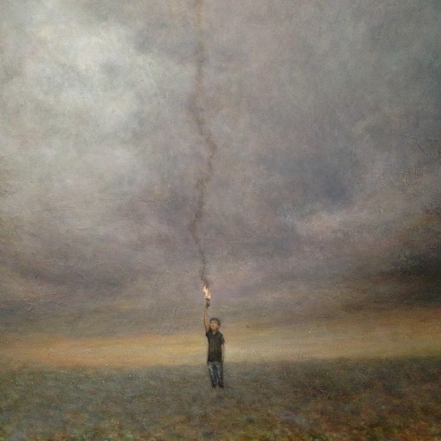 , 'Signal fire,' 2016, SEIZAN Gallery