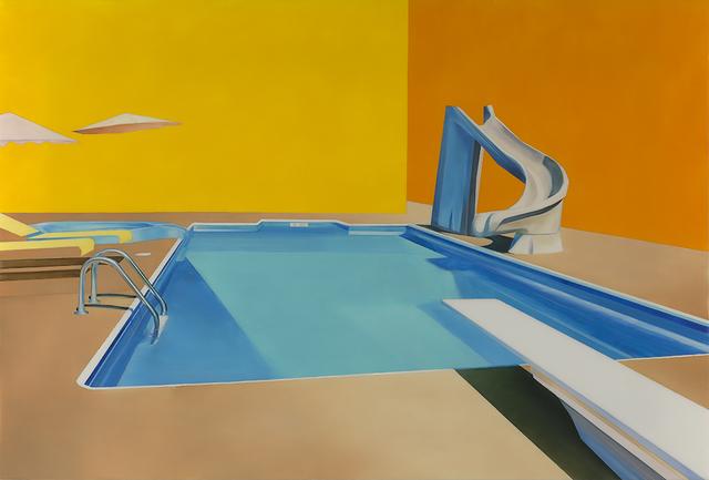 , 'Hotel Pool #6,' 2017, Roman Fine Art