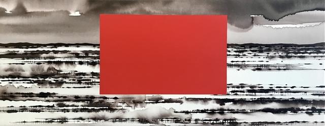David Middlebrook, 'China and I', 2019, Painting, Ink and acrylic on canvas, Art Atrium