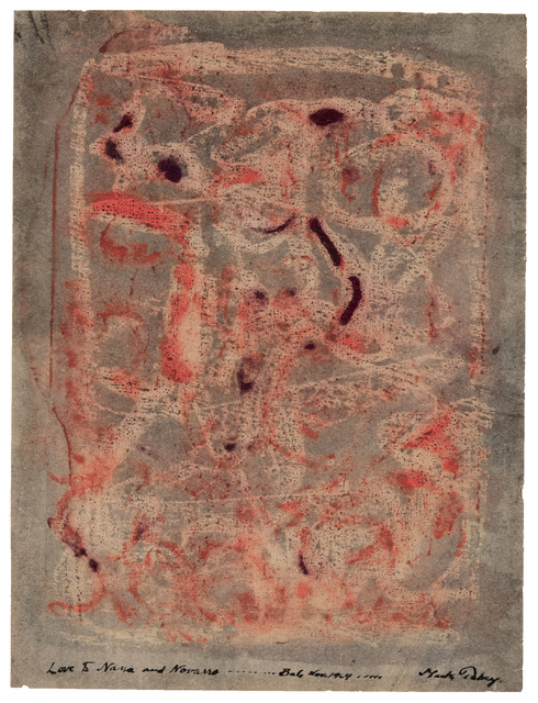 Mark Tobey, 'Untitled', 1964, Drawing, Collage or other Work on Paper, Wax drawing and counterproof with tempera on paper, Hollis Taggart