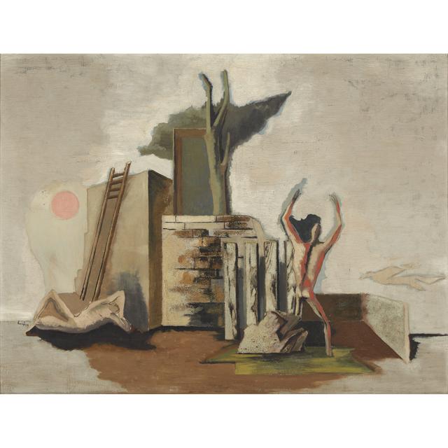 Jean Lurçat, 'Composition', Painting, Oil on canvas, Freeman's