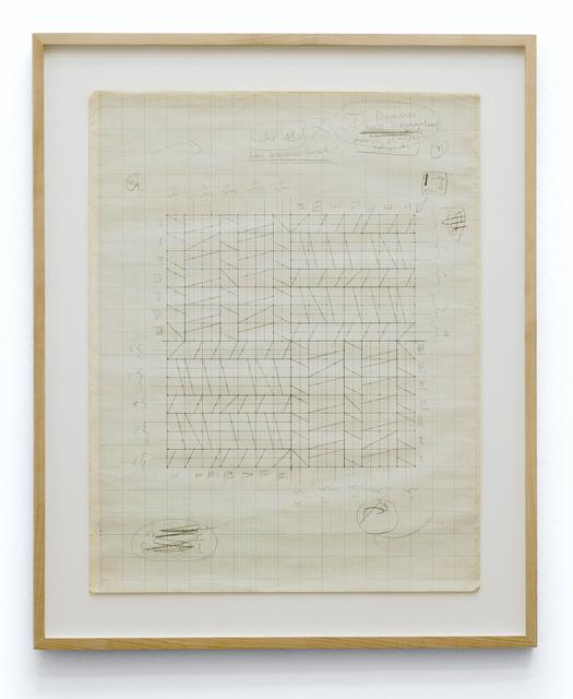 , 'Perforation, Konstruktion,' 1966-1967, Galerie Crone
